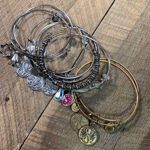 Lot of 10 Alex & Ani Bracelets